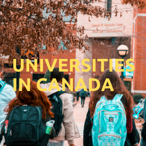 Universities in Canada - List of Universities in Canada by ...