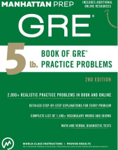 4 Best books for GRE Preparation - reviews